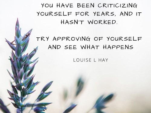 Dealing with your Self-Critic